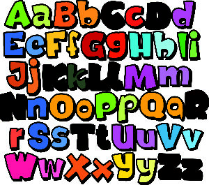 Alphabet Outlined