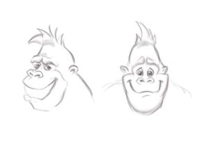 gorilla_sketch